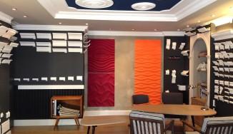 Novum Design, wnętrze salonu
